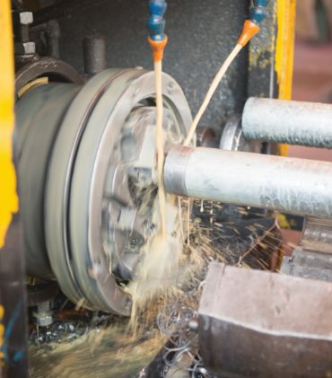 Flanged Pipe Manufacturing - Macsteel